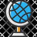 Globe Global Map Icon