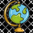 Globe Earth Globe Geographical Globe Icon