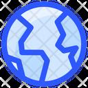 Planet Globe Earth Icon