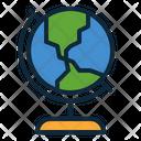 Globe Earth Earth Globe Icon