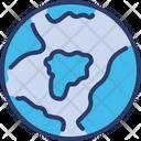 Globe Earth Geography Icon