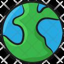 Globe Planet Map Icon