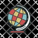 Globe Globus Color Icon