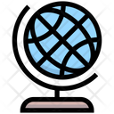 Business Financial Geography Icon
