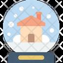 Christmas Globe Snow Icon