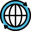 Globe Global Process Icon