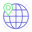 Globe International Map Icon