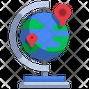 Globe Location Global Icon