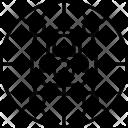 Globe Internet Security Icon