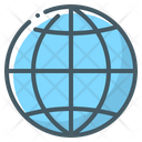 Globe Global Planet Icon