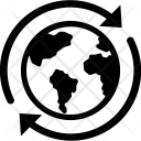 Globe Synchronization Loading Icon