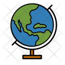 Globe Geography Subject Icon