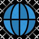 Globe World Location Icon