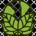 Globe Green Environment Icon
