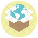 Globe International Delivery Icon