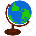 Atlas Earth Geography Icon