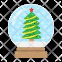 Snow Globe Christmas Icon