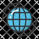 Globe Arrow Global Icon