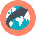 Globe International Travel Icon