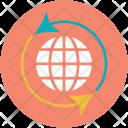 Globe Reload Internet Icon