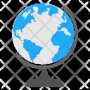 Table Globe School Icon