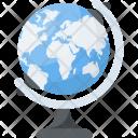 Education Globe Cartography Icon
