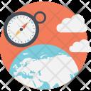 Trends Globe Compass Icon
