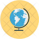Globe Geographic Map Icon