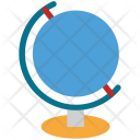 Geographic Map Reading Icon