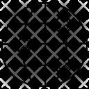 World Map Grid Icon