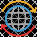 Globe Internet Rotate Icon