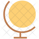 Globe Table Map Icon