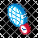 Globe Bird Icon