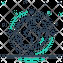 Globe Connection Icon