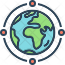 Globe-Connection Icon