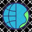 Globe Continent Icon