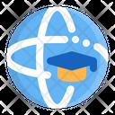 Globe Academic Education Icon