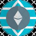 Globe Ethereum Icon