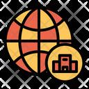 Globe Hotel Icon