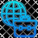 Globe Job International Job Globally Job Icon