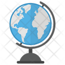 Globe Map Global Map World Map Icon
