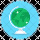 Globe Map Earth Map Table Globe Icon