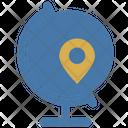 Globe Map Icon