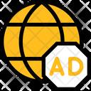 Internet Advertising Digital Marketing Media Icon