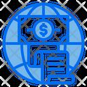 Globe Money Invoice Icon