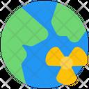 Globe Nuclear Icon