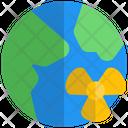 Globe Nuclear World Nuclear Nuclear Icon