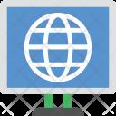 Globe Screen Lcd Icon