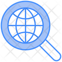 Globe World Lense Icon