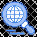 Globe Search Global Search Icon